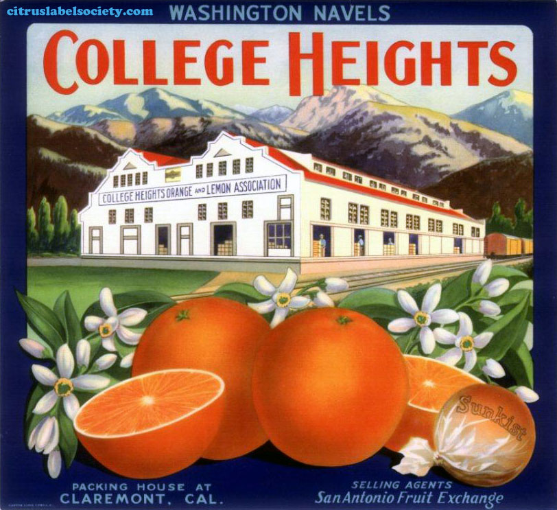 College Heights label